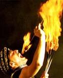 Feuershow & Fakirshow