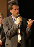 DER Messe Moderator Martin Klapheck