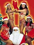 Weihnachtliche Samba-Show