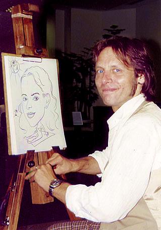 Karikaturist Uwe Kolkmeyer